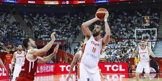 篮球世界杯-西班牙12分轻取波兰晋级四强