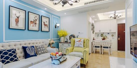 清江锦城时尚温馨舒适两居室