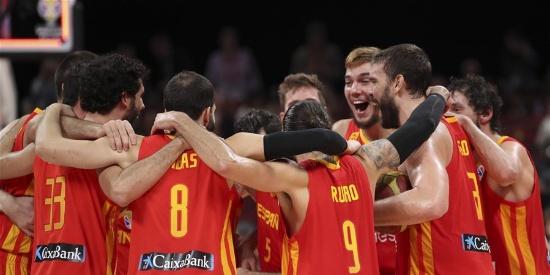 【篮球世界杯】西班牙队夺冠