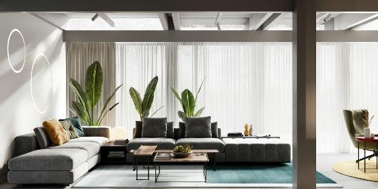 【远景】约克郡4居室现代简约风格装修