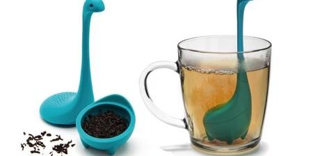 玩转生活小细节,尼斯湖水怪造型的创意茶包-图片之家