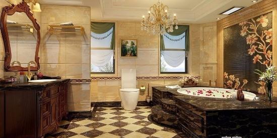 复式别墅简欧风格大气高档装修效果图--复式-图片之家