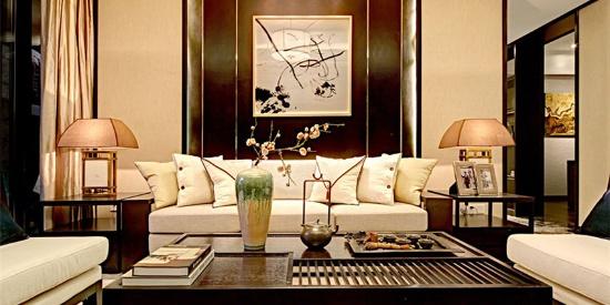 创之鸿装饰格调松间127平米中式风格装修案例