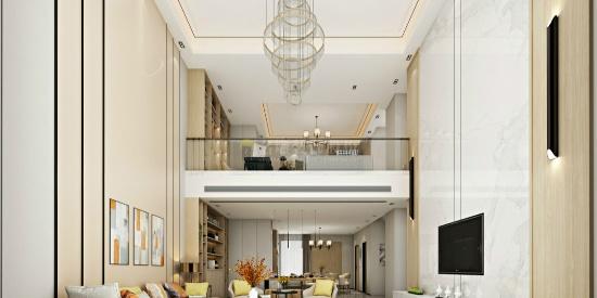 大南山紫园-新中式-520㎡五居室-全包120万