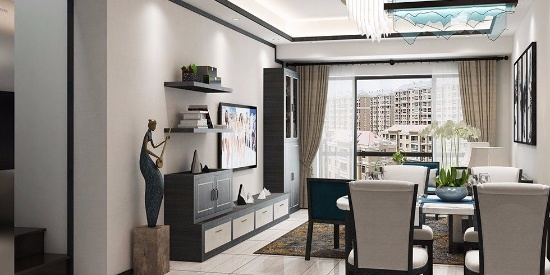 2019流行新中式风格别墅装修实景图--别墅-图片之家
