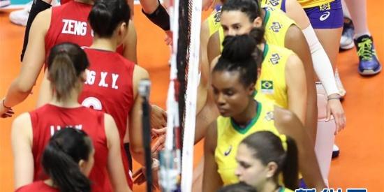 """""""双核""""驱动 中国女排逆转巴西取世界杯六连胜"""