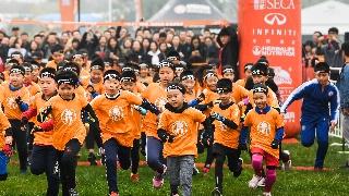 奥林匹斯之巅!超12000儿童变身斯巴达小勇士