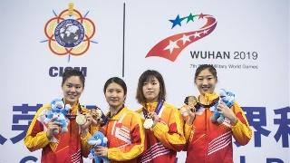 水上救生――女子4X50米障碍游泳接力:中国