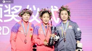 历史第一人!刘诗雯第五次夺世界杯冠军