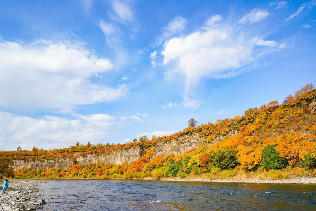 呼伦贝尔大草原秋高气爽自然风景图片大全--图片之家