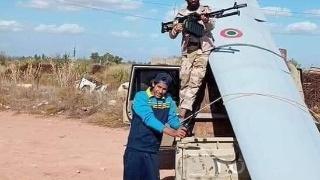 利比亚国民军击落一架意大利无人机