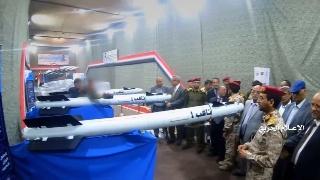 胡赛武装秀装备,多款空空导弹改装成地空弹