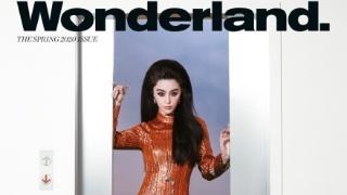 范冰冰登英国时尚杂志 复古造型慵懒迷人