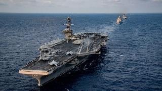 美国在印太已无航母可用:两艘航母均染病