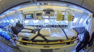 德国军机开设ICU跨国转运重症患者