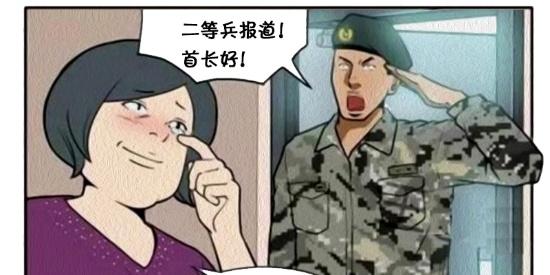 搞笑漫画:退役兵人的台式电脑