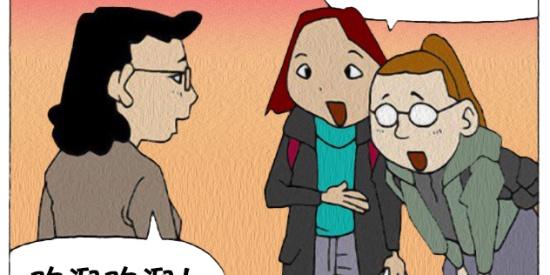 搞笑漫画:上大学都不让谈恋爱