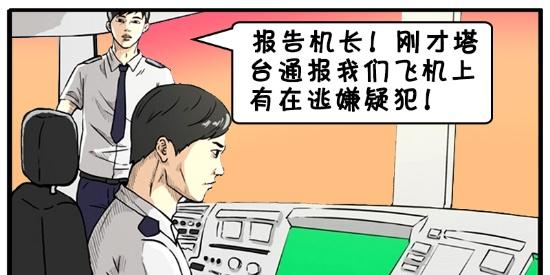 搞笑漫画:聪明的飞机机长