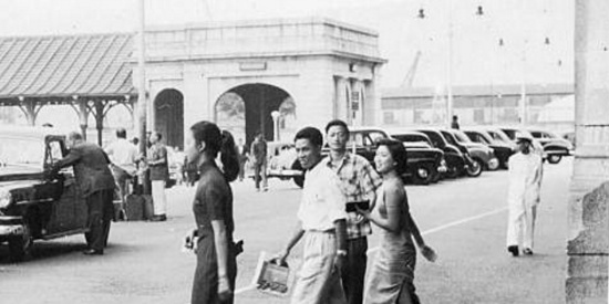 老照片:50年代的老香港