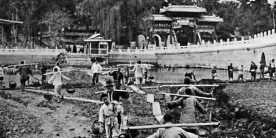 老照片:新中国成立初的北京
