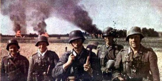 二战期间德军战场上的一些彩色照片