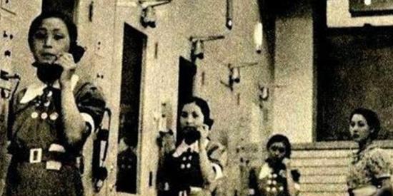 老照片:日本侵华战争竟然还派出了女兵