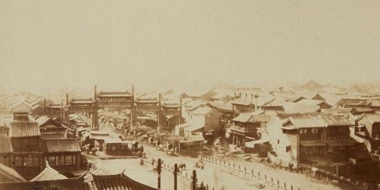 老照片:十九世纪末的北京,并没有想象中的那么繁华