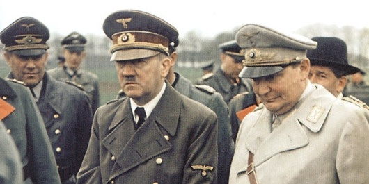 凝固的历史瞬间:16张二战彩色老照片