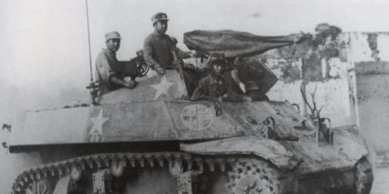 二战爆发,中国远征军赴缅作战的情景(一)