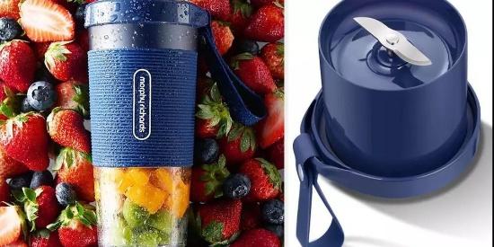 为了让吃货随时喝到新鲜果汁,这个品牌硬是把榨汁技术植入杯子!