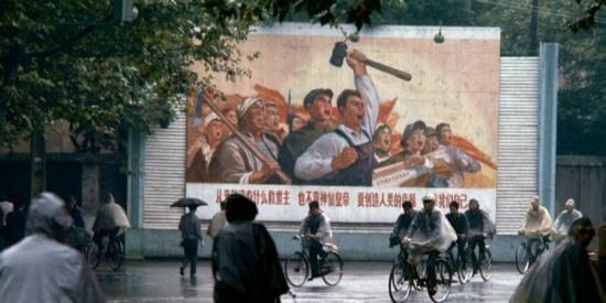 1973年中国老照片,法国摄影师镜头下的城乡生活!