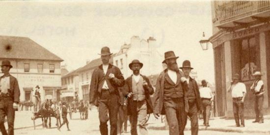 1885年澳大利亚悉尼银版老照片