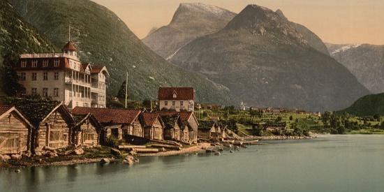 1900年北欧之国美照(上色老照片)