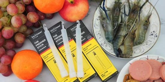 亲测实验:德国博士花3年研发的棒子能去味杀菌,还能保鲜食物?