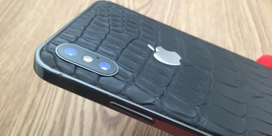 iPhoneSE风格边框搭配鳄鱼皮的背板,这样的iPhone