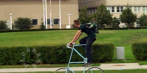 搞笑图文志:晒晒你见过的奇趣自行车