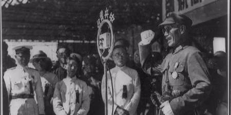 看蒋介石在抗日战争时间都在忙什么