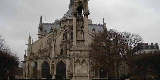 法国巴黎圣母院