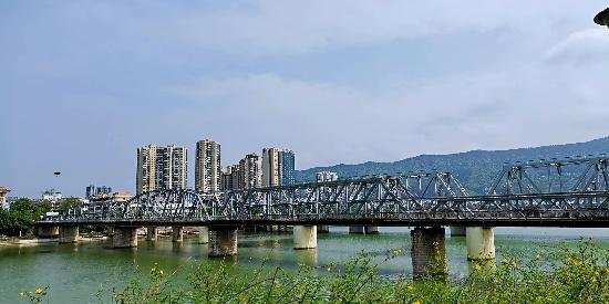 城市记忆,它是广元最美的老铁桥,全264米!