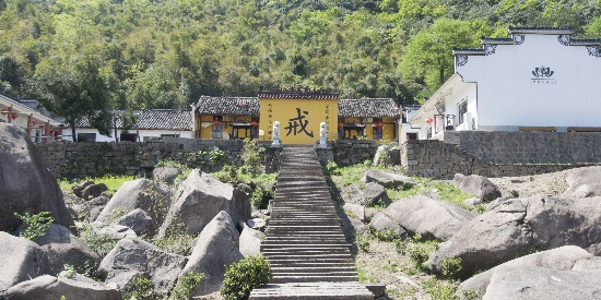谷雨前 探访安徽九华山翠峰寺