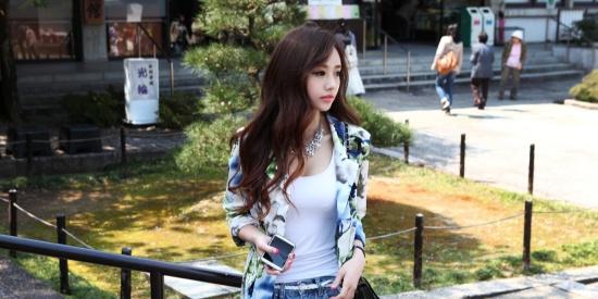 韩国第一网红女神孙允珠,这种美清新而又令人印象深刻