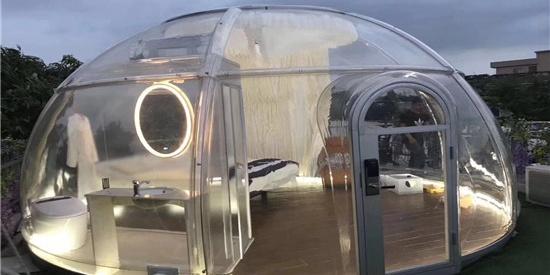 PC星空宿,让所有女孩魂牵梦萦的景观帐篷