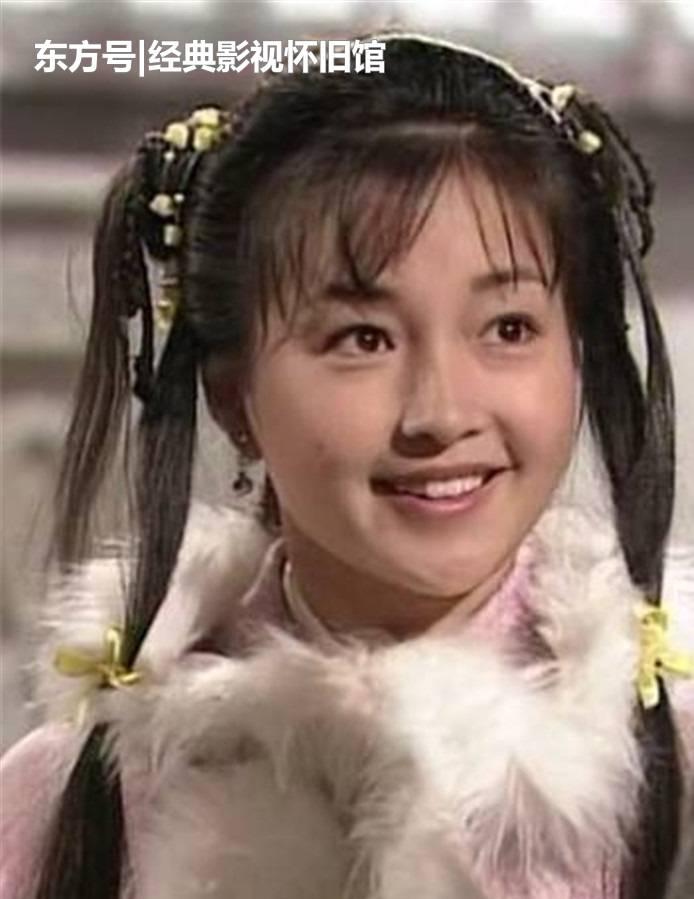 那些年,香港武侠剧中的天然古装美女,回忆起来都是满满的情怀