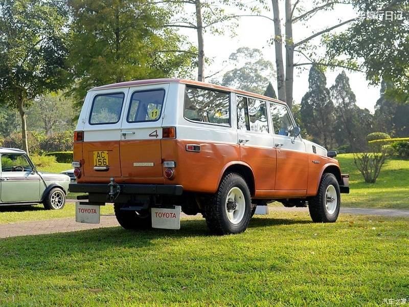 丰田四驱豪华越野车的始祖,也是日本皇室最爱的一款车