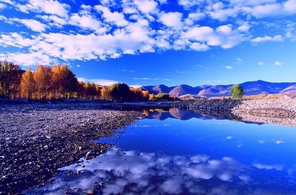 稻城风景图实拍
