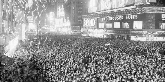 新年的钟声敲响了,快来看外国人怎么过新年?