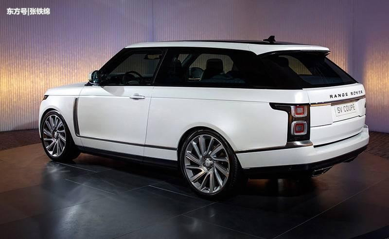 两个车门,四个座椅的路虎新车,卖200万,全球只有999辆