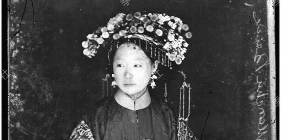 半个多世纪里中国女性终于得解放,老中国女性旧照