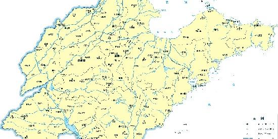 山东省17市地图合集之一
