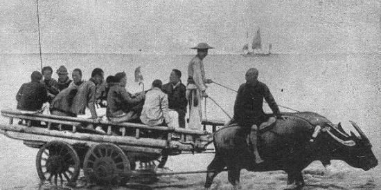 100多年前晚清时期,中国人用什么交通工具?